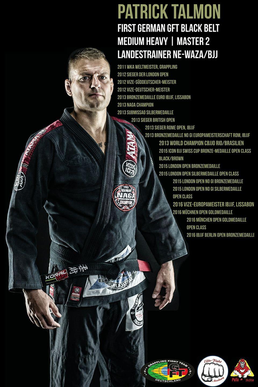 Patrick Talmon BJJ Weltmeister